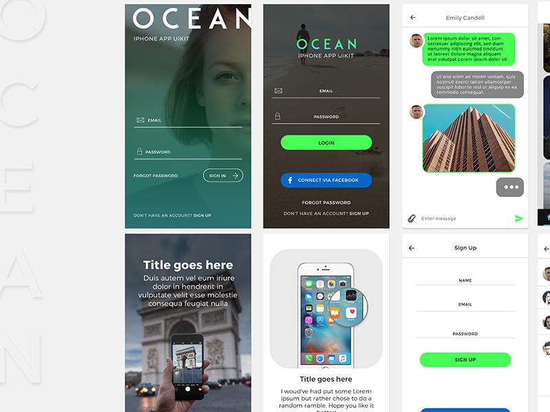 OCEAN|Mobile_UIkit2016